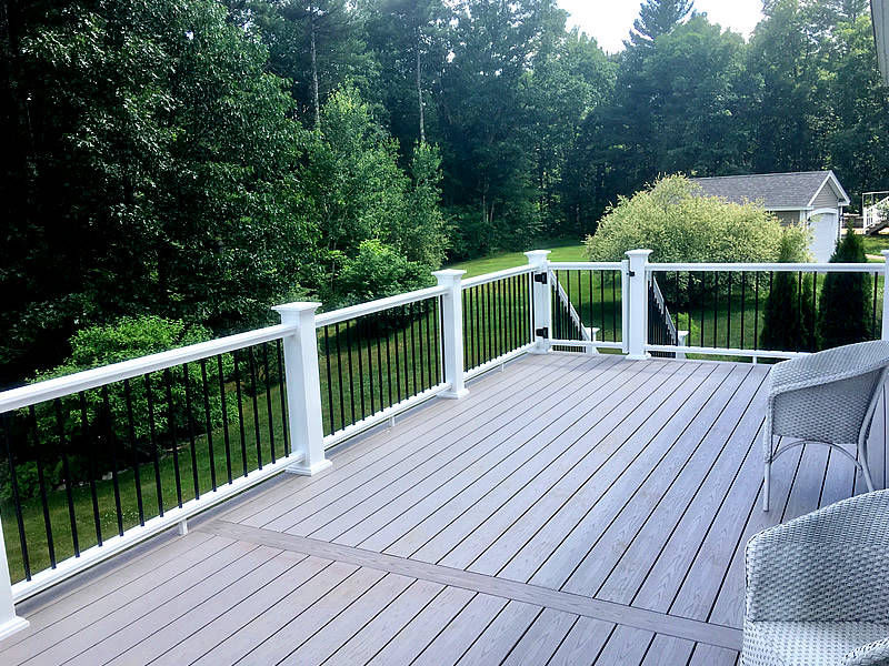 Levis Companies, Inc - Massachusetts and New Hampshire general contractor - deck installation